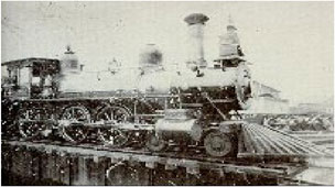Photo of a Train Locomotive