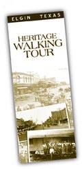 Image of Heritage Walking Tour Brochure