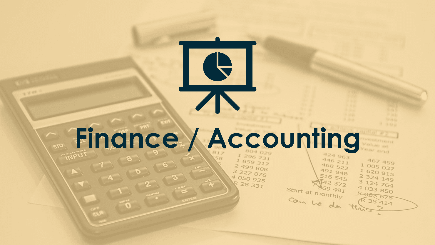Finance / Accounting