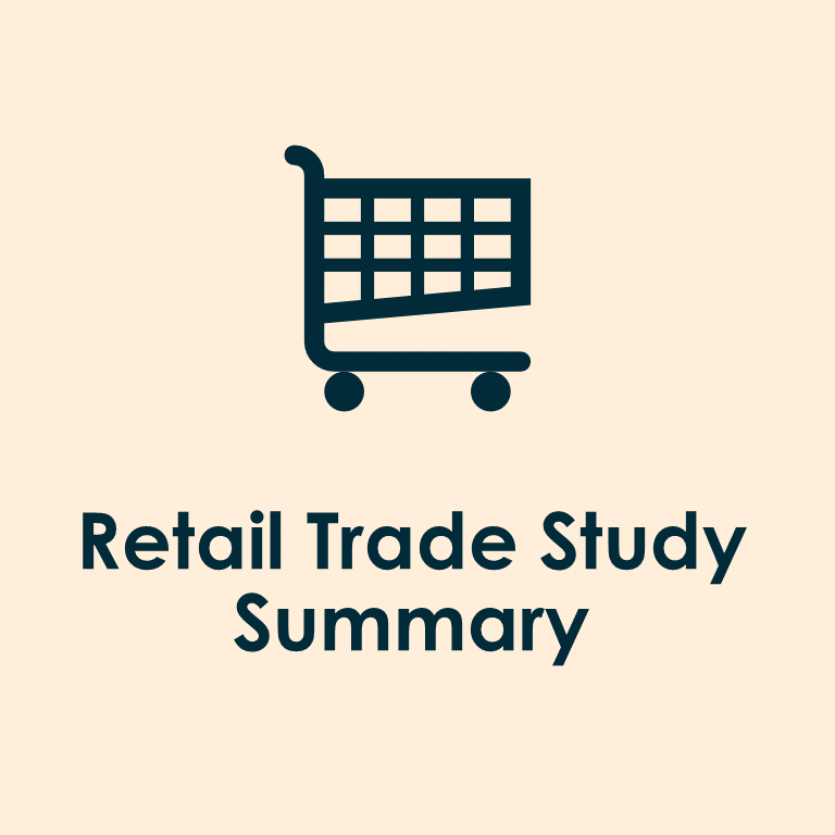 retail trade study summary